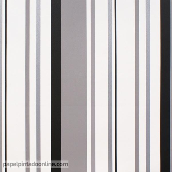 Papel pintado rayas verticales papel pintado de pared - Papel pared rayas verticales ...