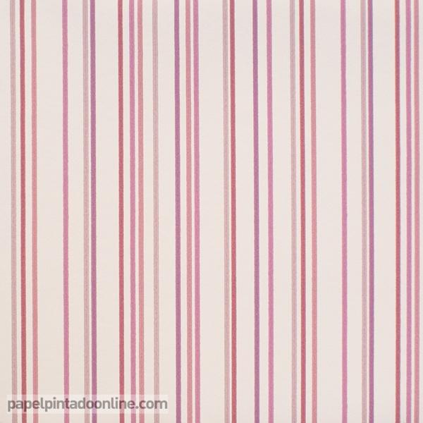 Papel pintado rayas verticales papel pintado de pared for Papel pintado de rayas verticales