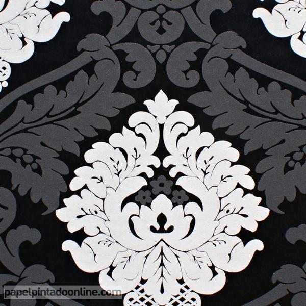 Papel pared blanco y negro papel pintado de pared - Papel pintado negro ...